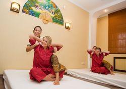 Дуэт тайского традиционного массажа